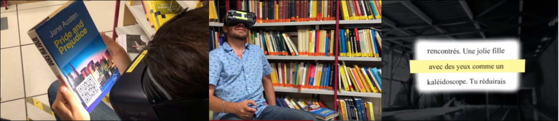 Helping visually impaired patients to read more comfortably
