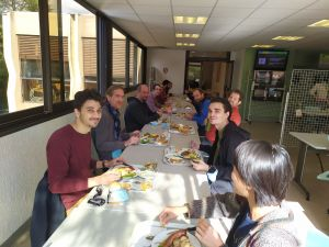 Lunch at Inria