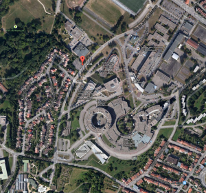 INRIA in google maps