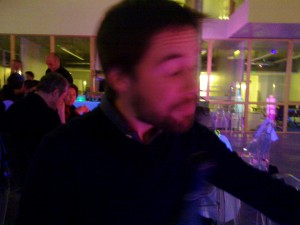 At the INRIA winter party