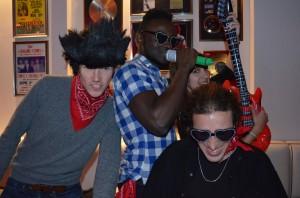 Michael, Elvis, and Gael
