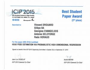 BestStudentPaper_ICIP15