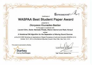 BestStudent-WASPAA2015