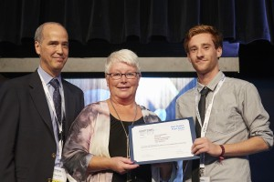 Vincent Drouard receives an ICIP'15 best student paper award from Lena