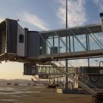 3D airport scene