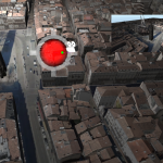 3D map view