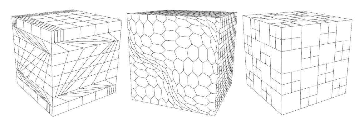 Numerical methods for polyhedral meshes