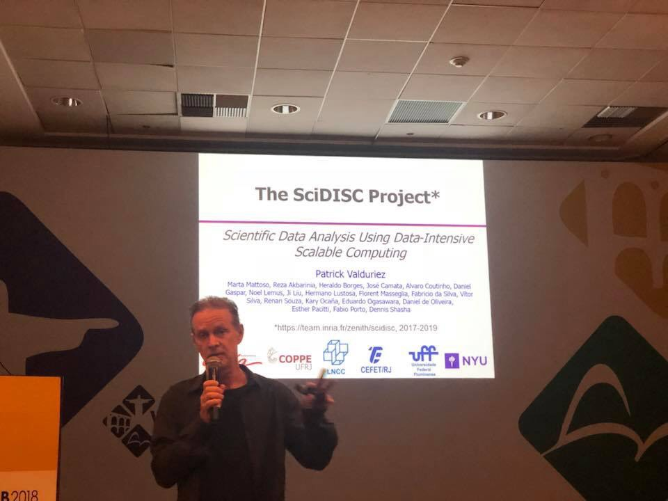 SciDISC meeting at the First Latin America Data Science Workshop